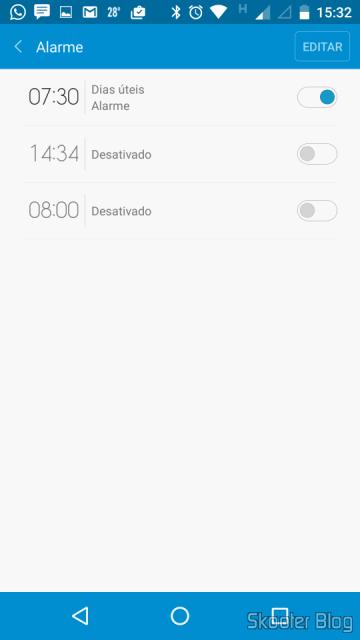 Configurando alarmes inteligentes na Mi Band com o Mi Fit