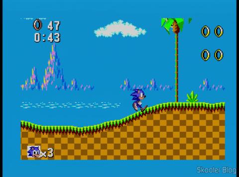 Sonic The Hedgehog no Master System