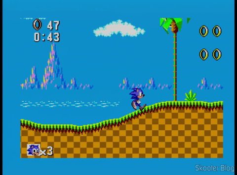 Sonic The Hedgehog no Master System