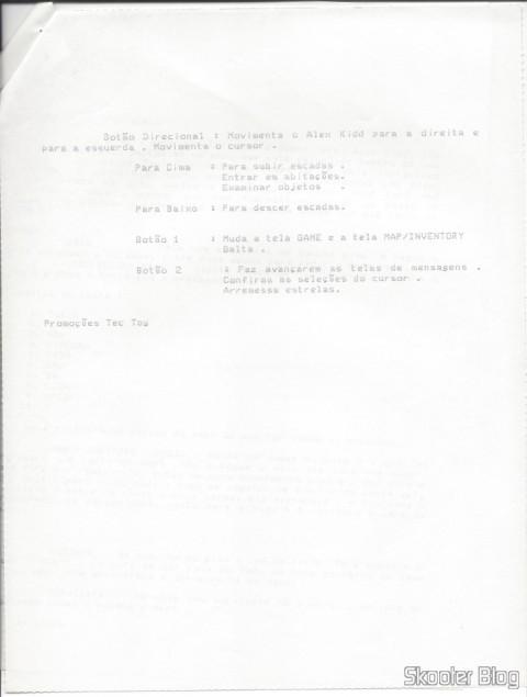 Dicas Tec Toy - Alex Kidd High Tech World - Master System - Página 3