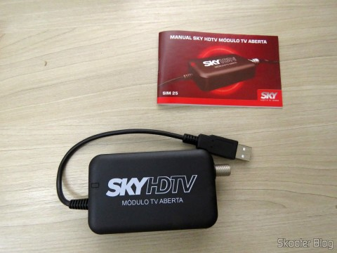 TV module Open Sky HDTV SIM25 (S-IM25-700) and instruction manual
