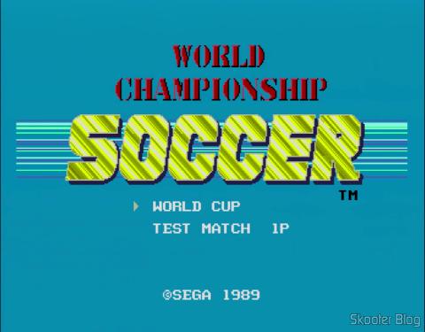 Em consoles americanos ou europeus, o nome do jogo é World Championship Soccer