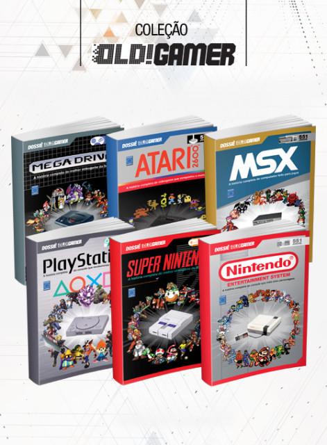 Coleção Dossiê OLD!Gamer - 6 Volumes