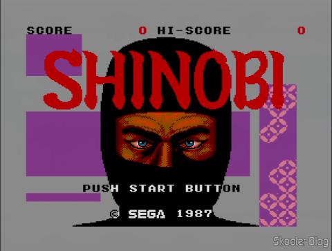 Abertura do Shinobi - Master System
