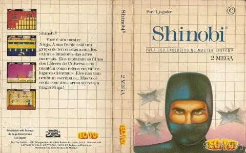 Capa da Tec Toy para o Shinobi