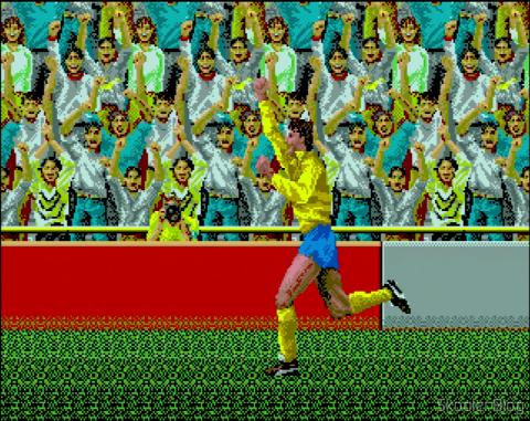 Super Soccer goal