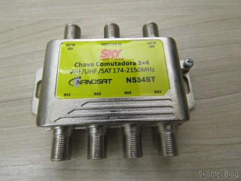 Switch 3 x 4 Nanosat NS34ST
