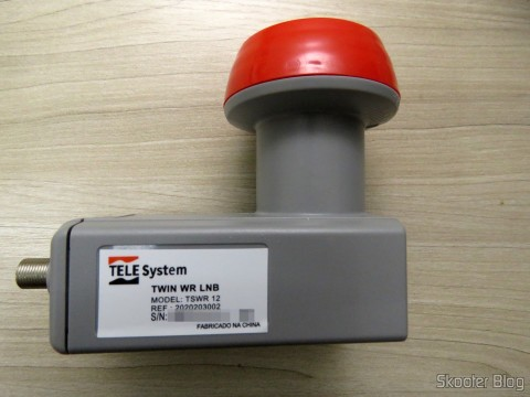 Dual Lnb Offset Antenna Broadband 60 ~ 90 cm Telesystem for Sky