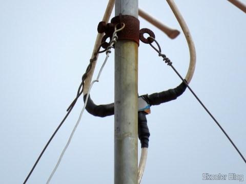 Misturador de Sinais VHF UHF Thevear 1020-F, instalado