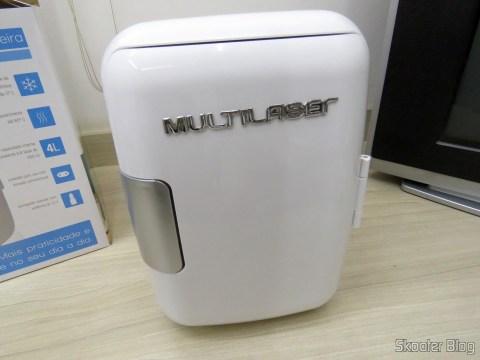Nova Mini Geladeira Portátil 12V ou 110V com 4 Litros de Capacidade, Função Esquenta e Resfria