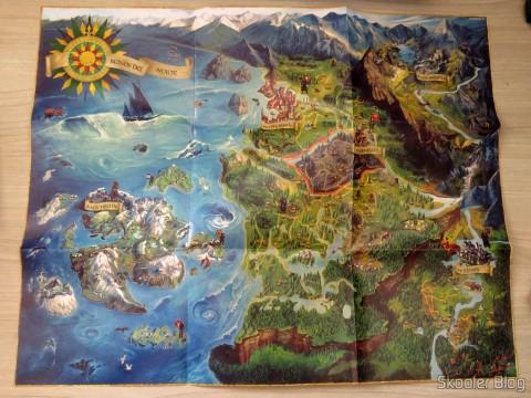Mapa do mundo de The Witcher 3: Wild Hunt (Playstation 4)