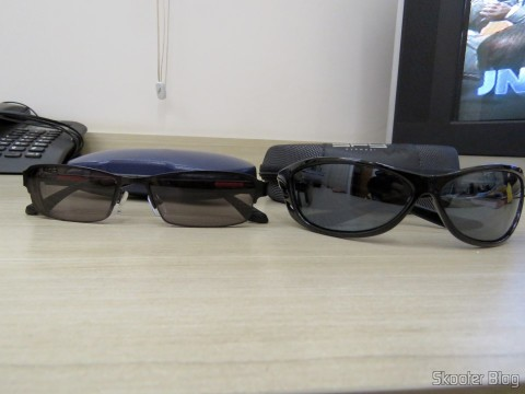 Sunglasses with Degree - G4u 2104 with lenses 1.57 CR39 and Spy sunglasses