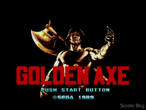 Golden Axe - Master System