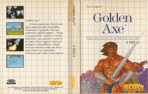 Capa da Tec Toy: Golden Axe - Master System