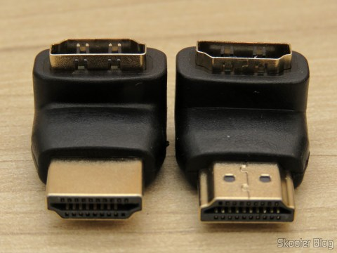 HDMI angled adapters