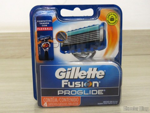 Gillette Proglide Regular load with 4 units