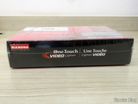 Diamond VC500 USB 2.0 One Touch VHS to DVD Video Capture Device, on its packaging