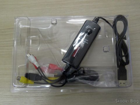 Diamond VC500 USB 2.0 One Touch VHS to DVD Video Capture Device