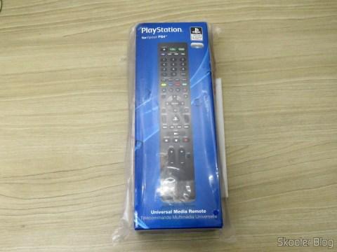 PlayStation 4 Universal Media Remote, em sua embalagem