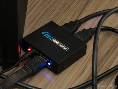 HDMI Splitter 1 x 1.3 b 1080 p 3D, operation