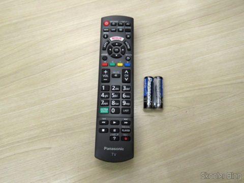 "Controle Remoto da Smart TV Panasonic Viera 40"" - TC-40DS600B"