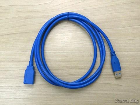 Cabo de Extensão USB 3.0 Macho para Fêmea
