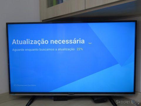 Chromecast 2 installing updates