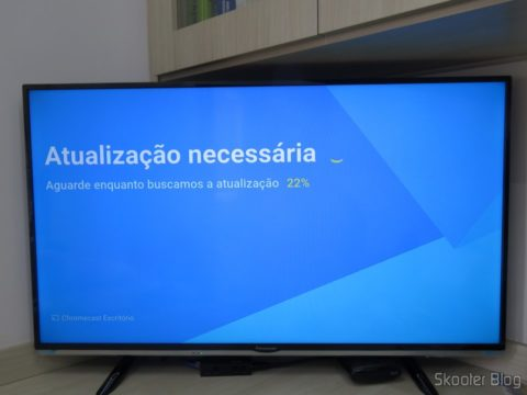 Chromecast 2 instalando atualizações