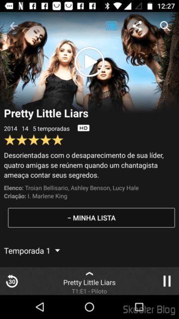 Testando o Netflix no Chromecast 2