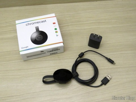 Chromecast 2 and accessories, American standard source