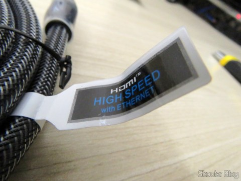 HDMI Cable label 2.0 4K-3D 60 Hz Vention of 2 meters