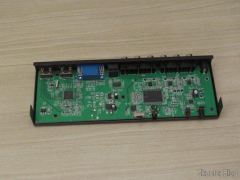 Decodificador e Extrator de Áudio HDMI para HDMI, SPDIF e Analógico 5.1, por dentro
