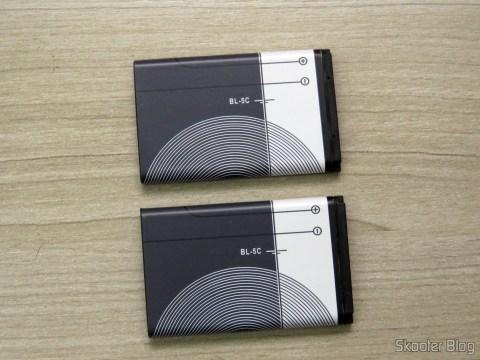Duas Baterias Nokia BL-5C