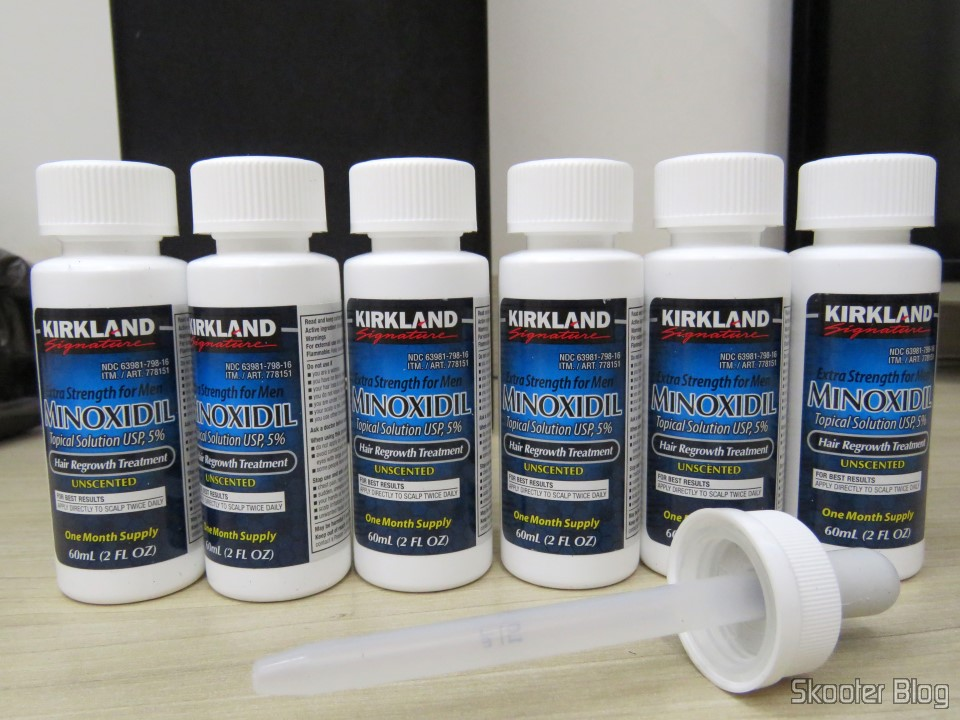 Kirkland Minoxidil 5% - Supply of 6 months