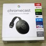 Google Chromecast 2, em sua embalagem lacrada