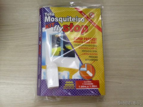 Mosquito Net Screen Kit Fly Stop, on its packaging