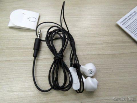 Fones de ouvidos do Smartphone Motorola Moto Z Play