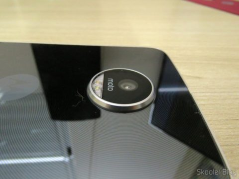 Câmera do Smartphone Motorola Moto Z Play
