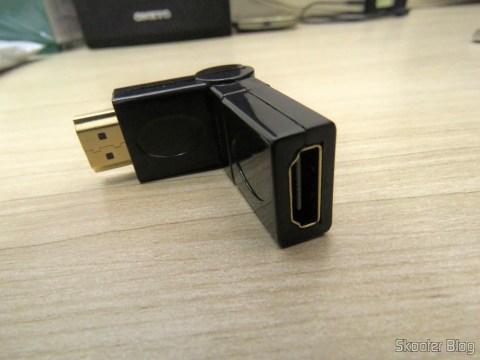 Adaptador HDMI Angular Rotativo Adaptador HDMI Angular Rotativo