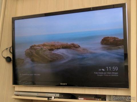 Google Chromecast 2 up and running