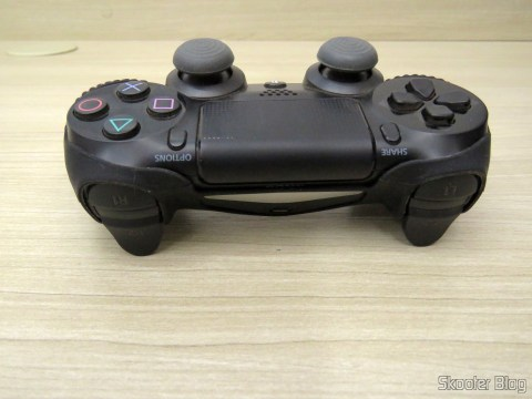 Dualshock 4 with the second Silicone case with strap for Dualshock 4 -PS4