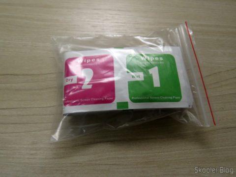 Pacote com as 10 Películas para Xiaomi Mi Band 2