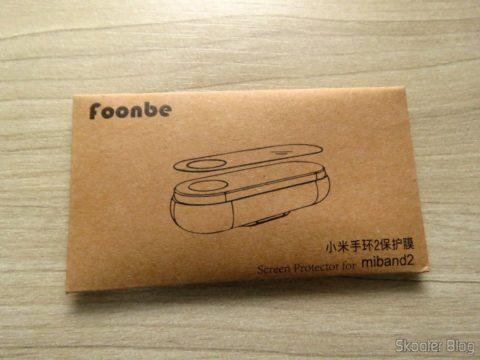 Envelope com as 10 Películas para Xiaomi Mi Band 2