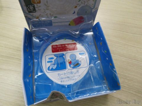 Solar Nohohon Zoku Doll, on its packaging