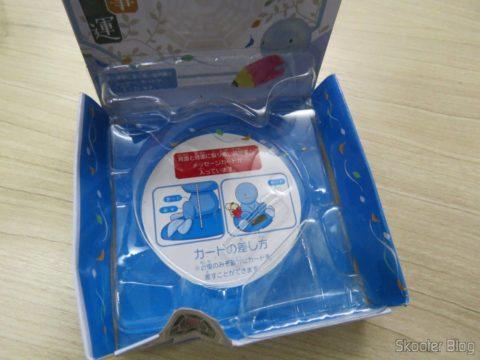 Boneco Solar Nohohon Zoku, em sua embalagem