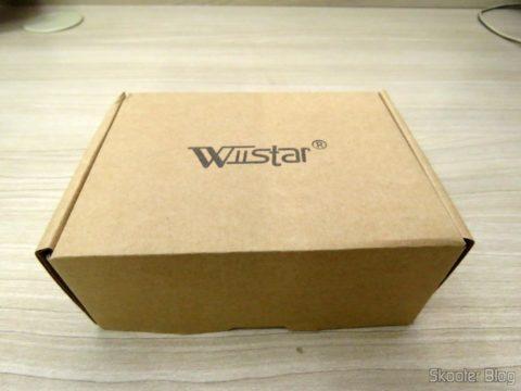 Decodificador de Áudio Óptico/Coaxial DTS/AC3 para Analógico Estéreo Wiistar, em sua embalagem