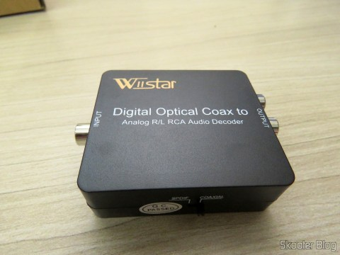Optical/Coaxial Audio decoder DTS/AC3 to Stereo Analog Wiistar
