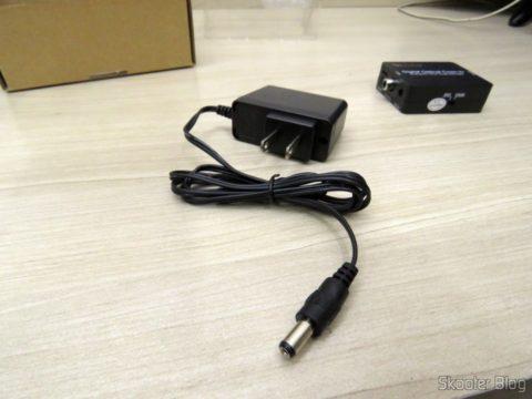 Fonte de Alimentação do Decodificador de Áudio Óptico/Coaxial DTS/AC3 para Analógico Estéreo Wiistar