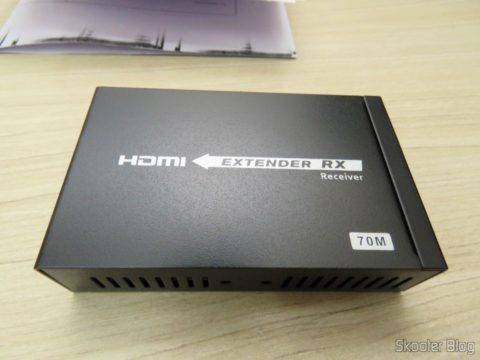 2 HDMI Extender receiver Lenkeng LKV375 HDBaseT by Single twisted pair