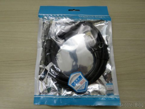 2th HDMI cable 2.0 4K-3D 60 Hz Vention of 2 meters, on its packaging